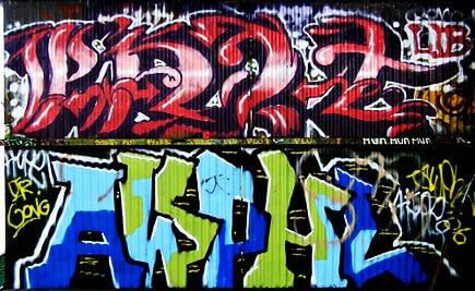 graffiti of san francisco