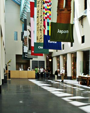 south court, asian art museum