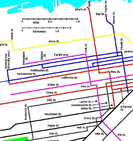 San francisco cable car lines 1893 toms garden cable car lines in san francisco 1893 sciox Choice Image