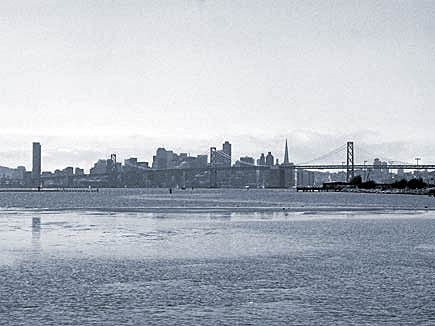 san francisco from port view park