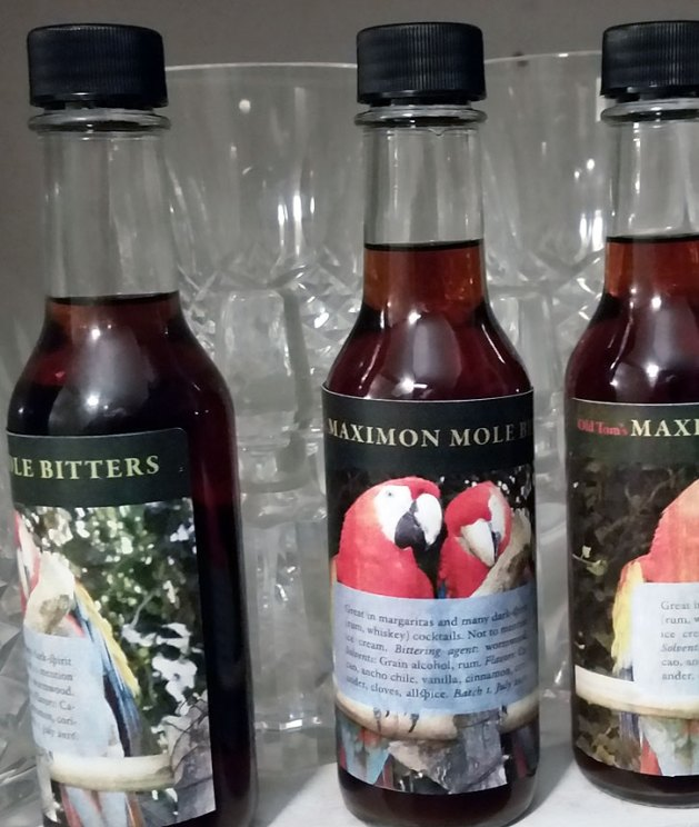 Old Tom's Maximon Mole Bitters