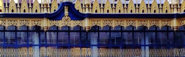 Detail of Hallidie Building facade.