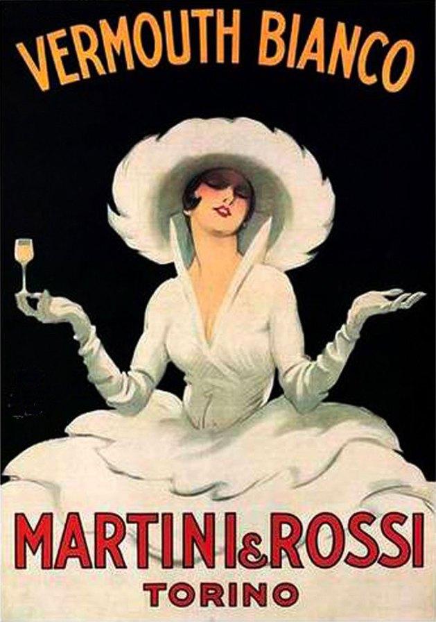 Martini & Rossi vermouth ad.
