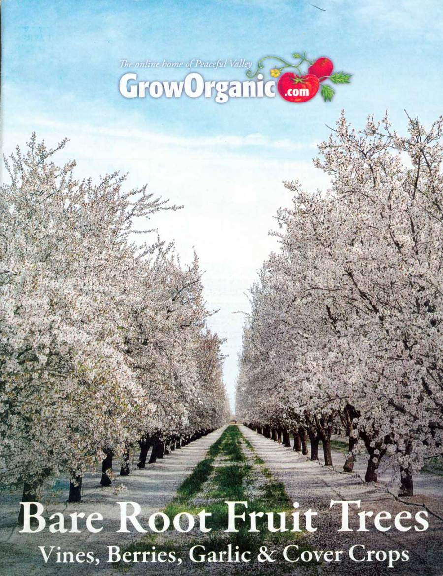 Grow Organic: Fruit Trees, California, 7.75 x 10 in., 68 pp.