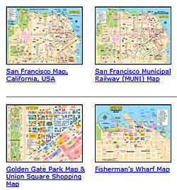 san francisco region maps