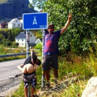 #theendoftheroad #harstad -> #Å #biketrip #lofoten #moskenesøya #moskenes #norge #norway #frisek @vvchiche @laurent5_4