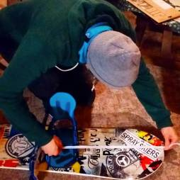 Snowboard science with @mitchfsk #frisek #frisekteam #snowboard
