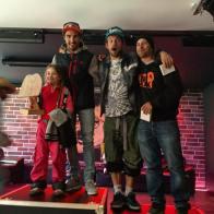 Congrat to @nemofsk 3rd at the #bankedclc of @champery_tourisme @superparkch @tele_champery_crosets Congratulations to @gonzocruiser and @danielpremand #frisekteam #frisek #bankedslalom #snowboard #champery #lescrosets #lesportesdusoleil #switzerland #suisse