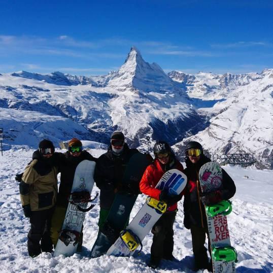 Big day #happymonday #frisek #snowboard #zermatt #praborgne #furi #caillou