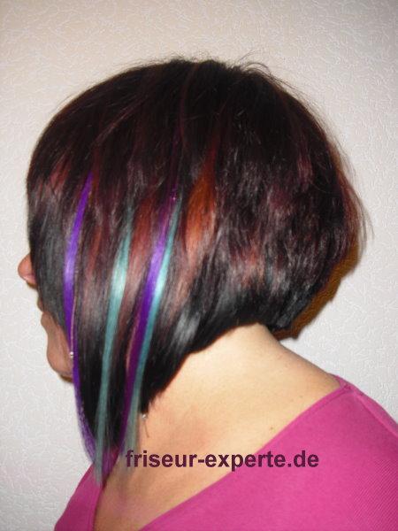Extrem Schräg – Bob Mit Extensions Von Friseur Experte De Friseur