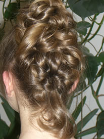 Friseur Knapp in Grohaslach  die besondere Frisur