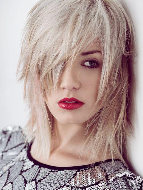 Unsere TOP 25 Blonde Mittellange Frisuren – Platz 3