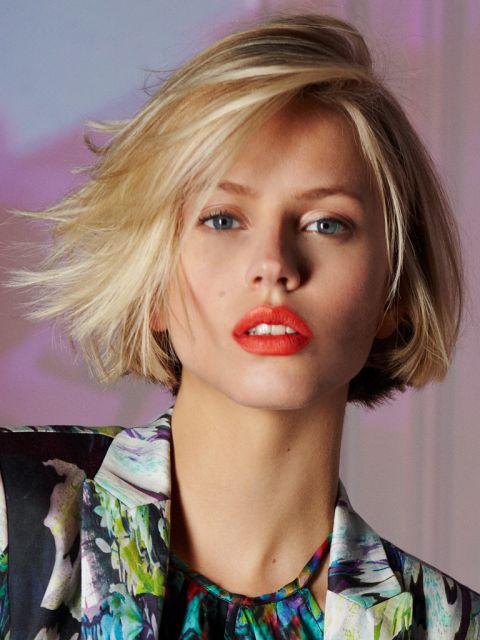 Unsere TOP 25 Blonde Mittellange Frisuren – Platz 21