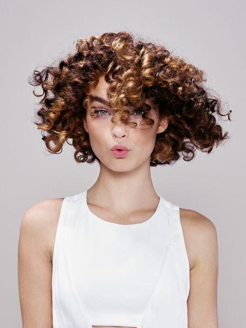 Locken Haare
