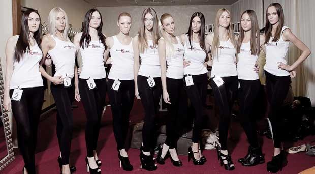 Supermodel Contest by Vronique Kern Deutschland Finale in Kln  Friseurcom