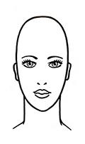 Das Längliche Gesicht Friseur Com