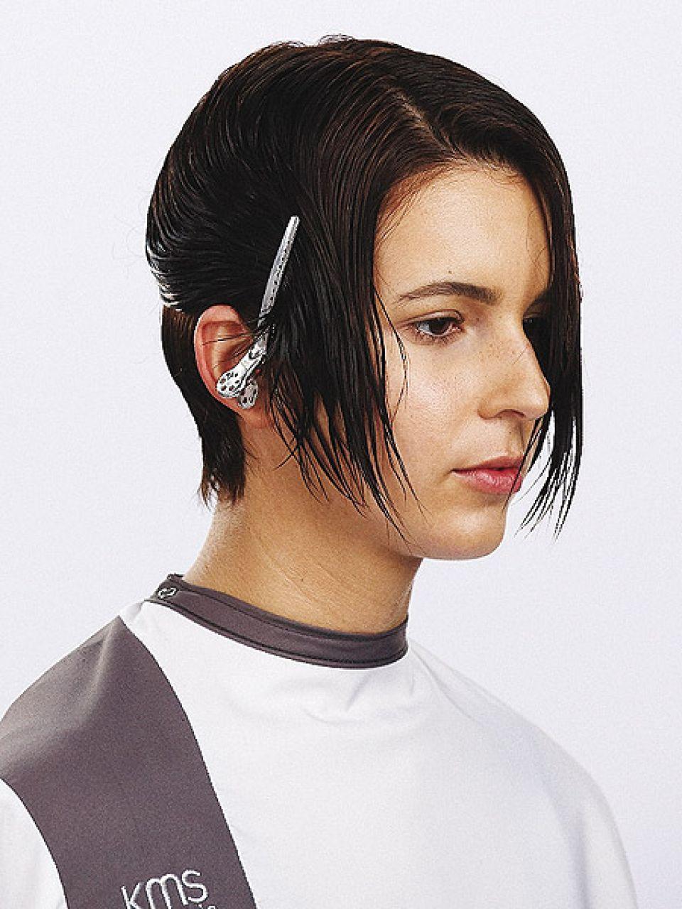 Geometrischer Haarschnitt mit Undercut  Friseurcom