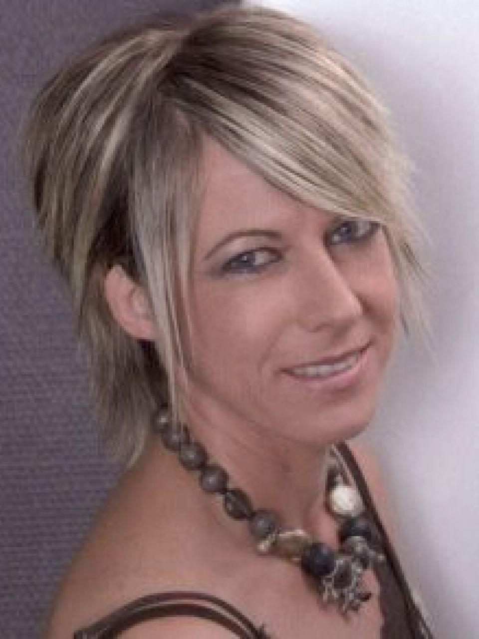 Graue Strhnen Damen  Friseurcom