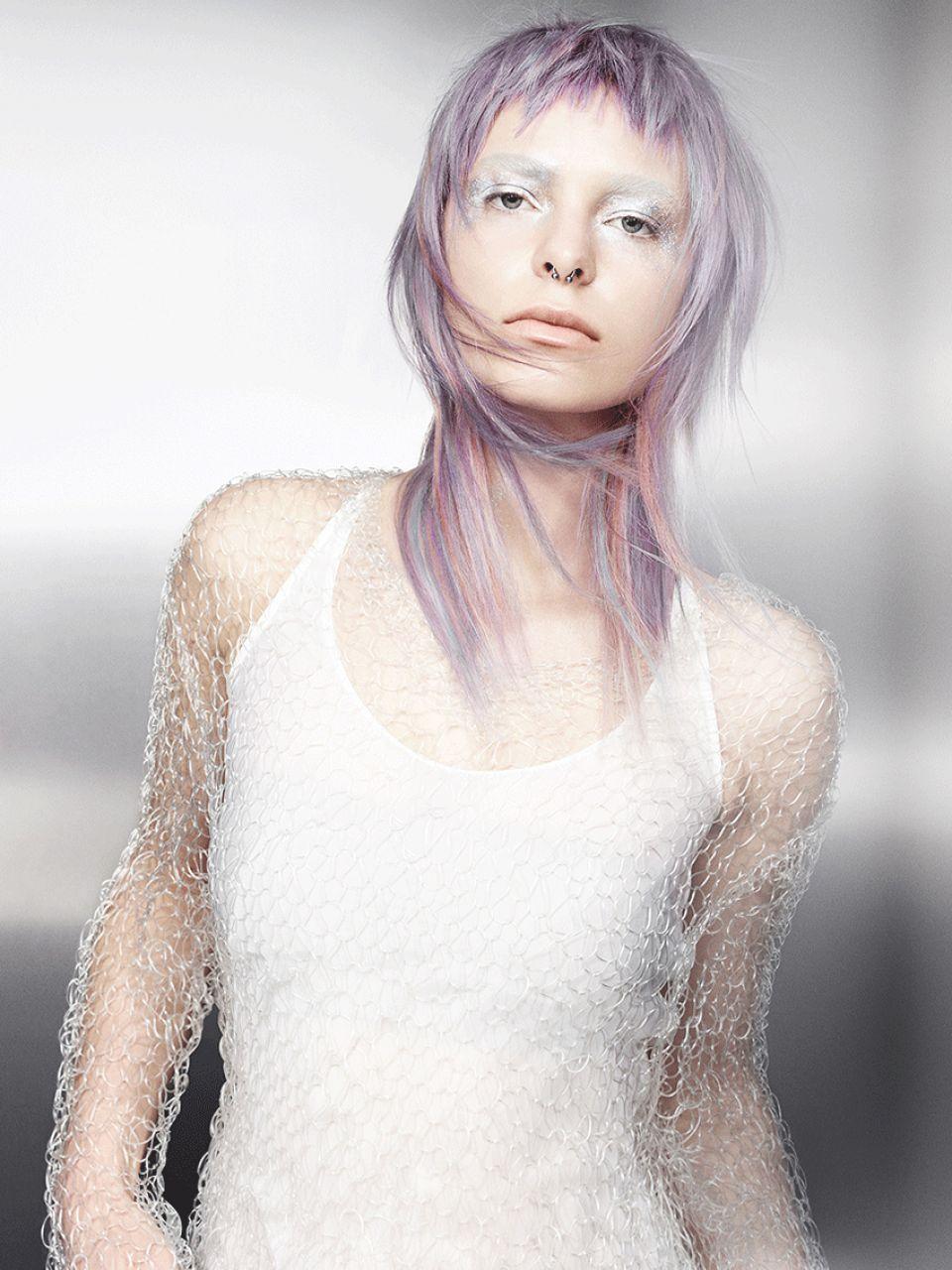 Lange fransige Haare Damen  Friseurcom