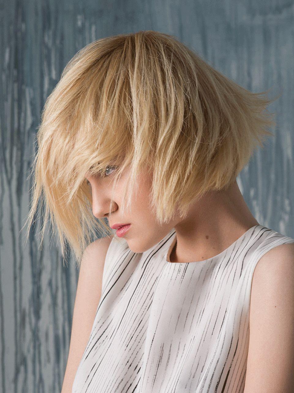 Kurze fransige Haare Damen  Friseurcom