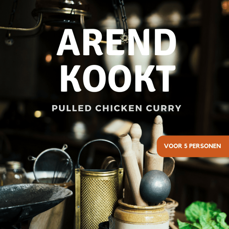 Arend Kookt - Pulled Chicken Curry
