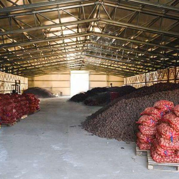 potato storage - agriculture steel