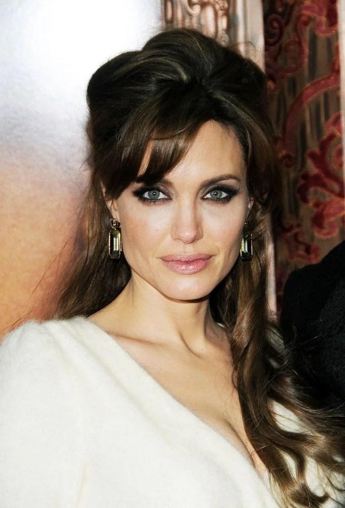 Angelina Jolie Frisuren Frisuren Magazin