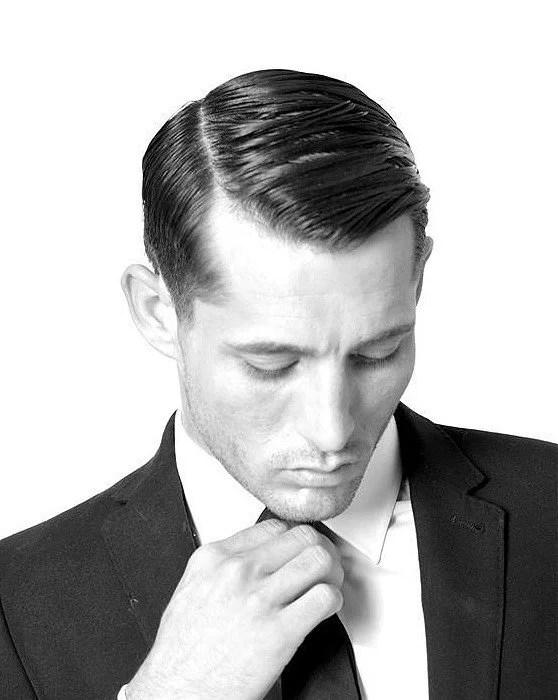 Männerfrisuren – Der Seitenscheitel Frisuren Magazin