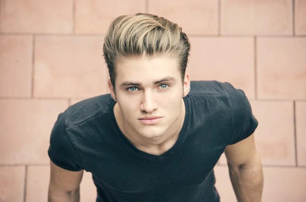 Männer Mit Blond Gefärbten Haaren Frisuren Magazin
