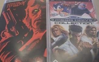 "UMD ""Hellboy"" (Director's Cut) + ""SEGA Mega Drive Collection"""