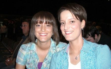 Nadine und Denise
