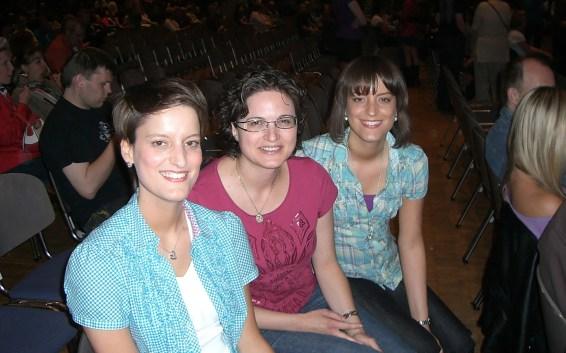 Denise, Sylvia und Nadine