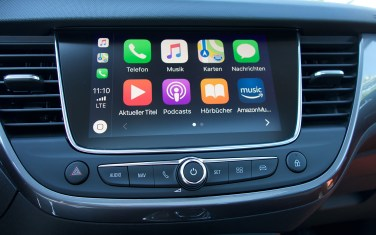 Apple CarPlay im Opel Crossland X.