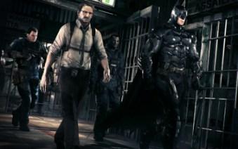 Commissionar Gordon und das GCPD unterstützen Batman im Kampf.