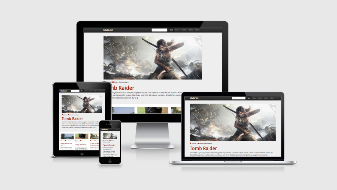 Fritschis Welt goes Responsive