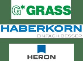 Logo Grass, Haberkorn, Heron