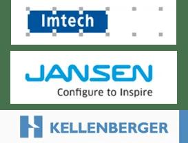 Logo Imtech, Jansen, Kellenberger