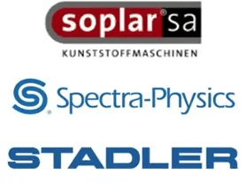 Logo Soplar, Spectra-Physics, Stadler