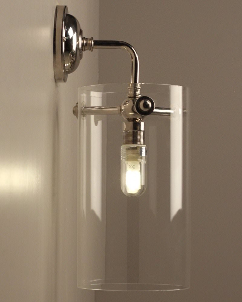 Clear Glass Sellack Wall Light Retro Industrial Lighting