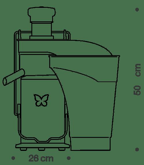Professional Juice Extractor IOTA