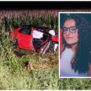 Perde il controllo dell'auto e finisce in un campo sulla provinciale per Fagagna: morta una ragazza di 24 anni