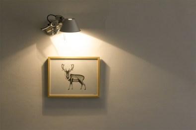 Stefano Baracetti, Dear deer, 2011, sala da pranzo di Silvia, Livio e Pietro - ph. Sara Mognol e Matteo Stocco
