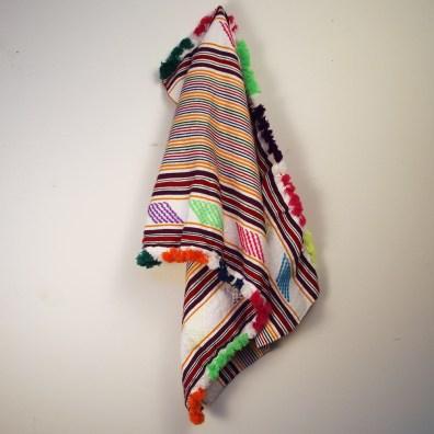Multi-Color Moroccan Woven Textile