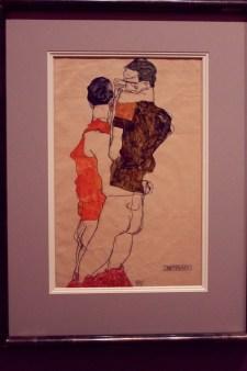 "Egon Schiele - ""Zwei Männer"" - 1913"