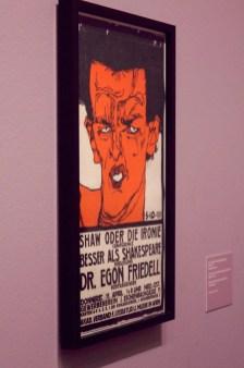 """Egon Schiele - """"Shaw oder die Ironie"""" - 1910"""
