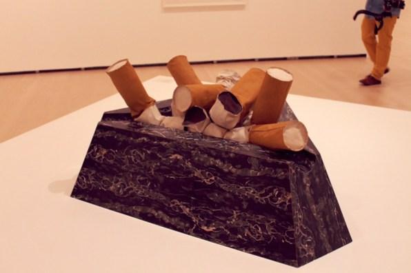 """Claes Oldenburg - """"Giant Fagends"""" - 1967"""