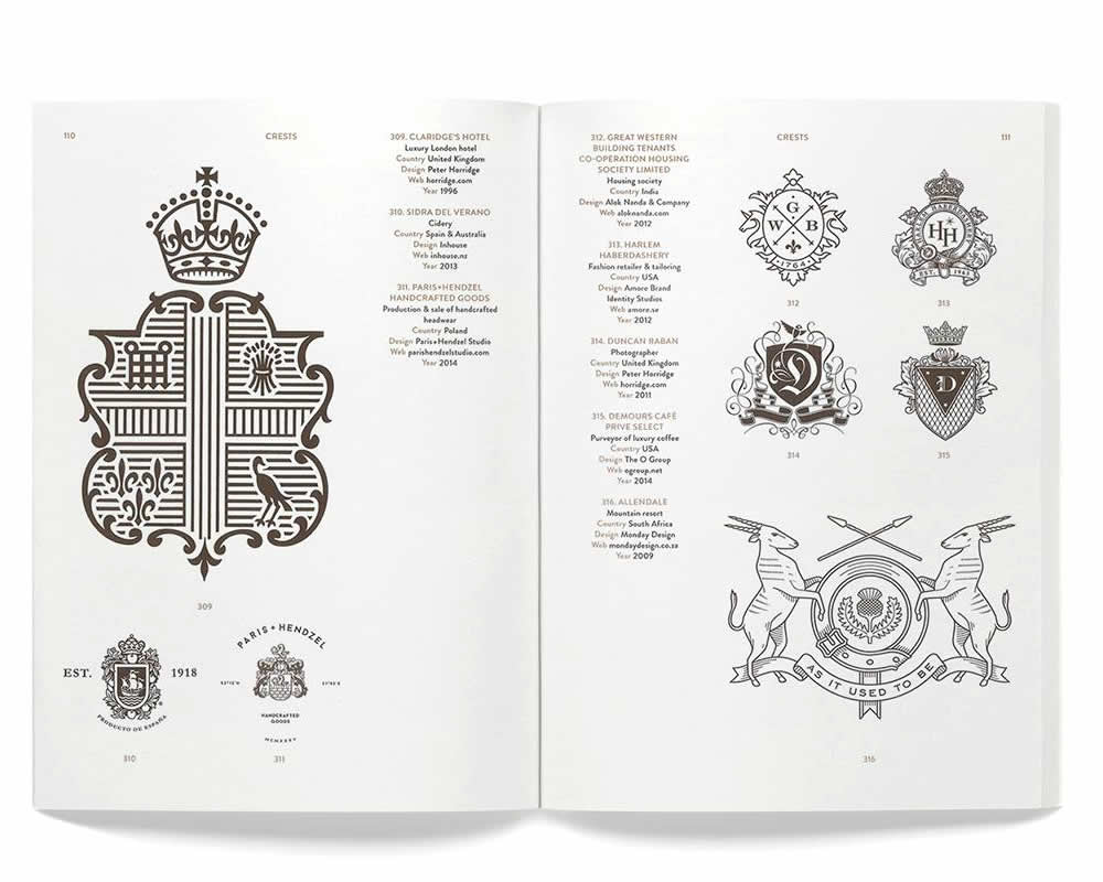 Modern Heraldry: Seals, Stamps, Crests & Shields, Counter Print 2015