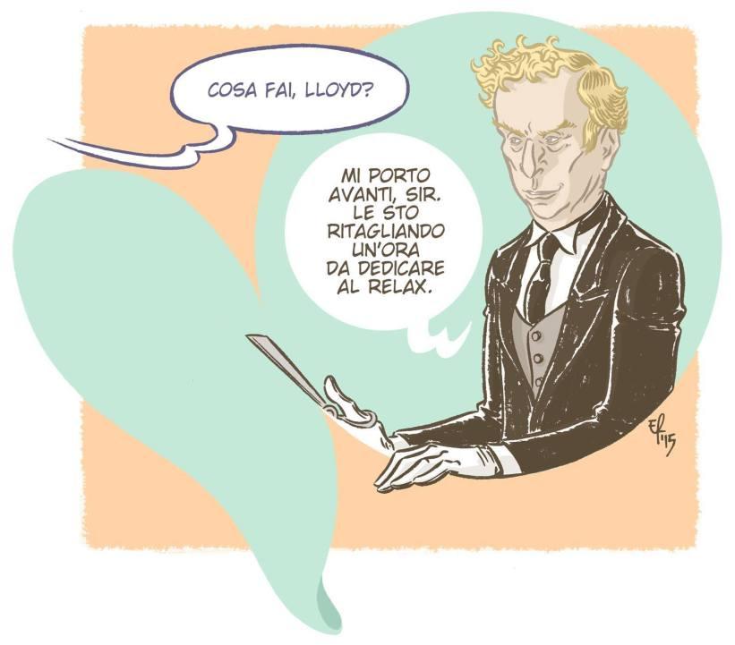 Lloyd secondo Emanuele Rosso