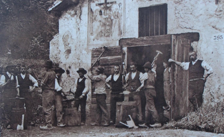 Il battiferro Due Ancore nel 1925