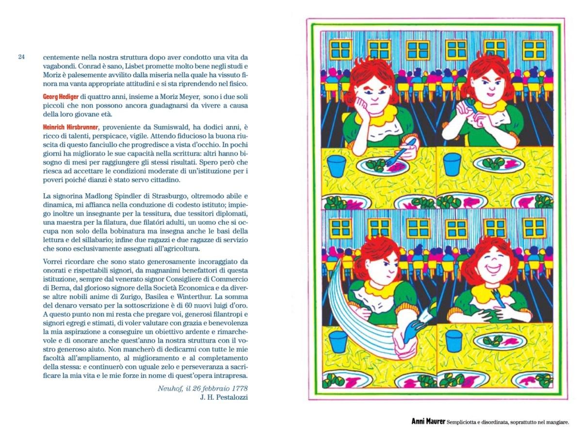 """Tolle Hefte, libro 3, """"I bambini dell'istituto di Neuhof"""", Orecchio Acerbo Edizioni"""